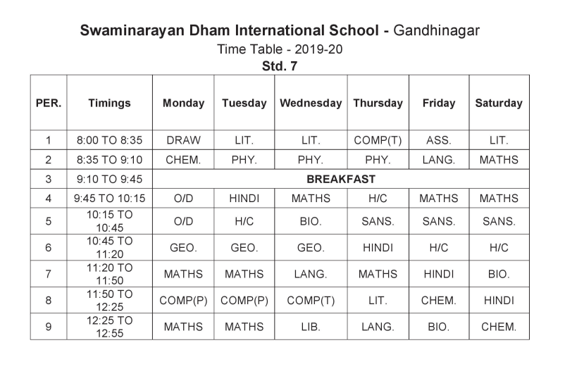 Swaminarayan Dham International School